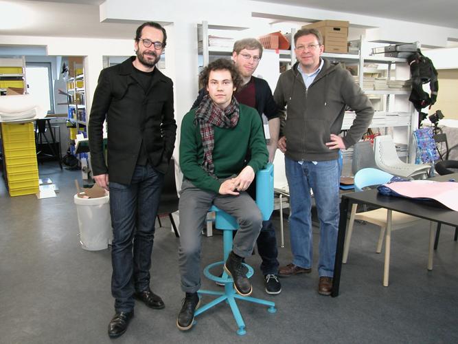 Konstantin Grcic zu Besuch bei Superquadra