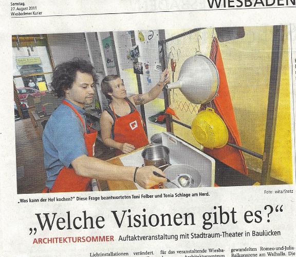 Artikel im Wiesbadener Kurier