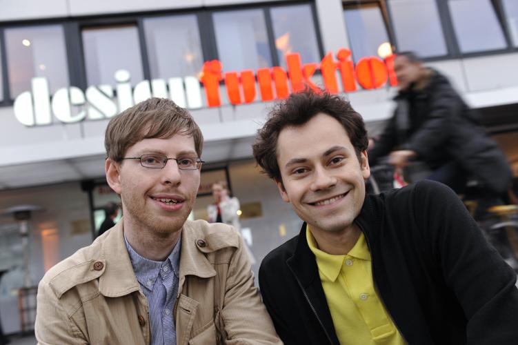 Preisverleihung Toni Felber + Jeremias Stock